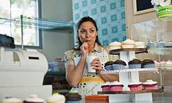 Have you been working as a bank teller but dreaming of perfectly frosted cupcakes? Then it might be time to take a chance and try your hand as a baker.