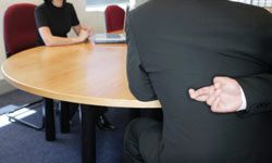 Don't lie during a job interview. The truth will come out -- eventually. And you'll probably get sacked for it.