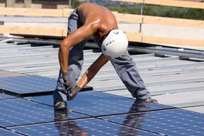 """The Department of Labor provides millions to help unemployed young people transition into """"green careers"""" such as hybrid auto technicians and solar panel installers."""