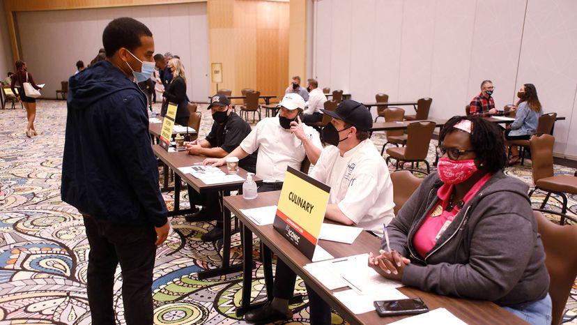job fair at the Seminole Hard Rock Casino