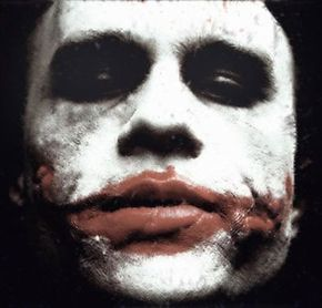 Heath Ledger as the Joker in 'The Dark Knight.' See more Batman pictures.