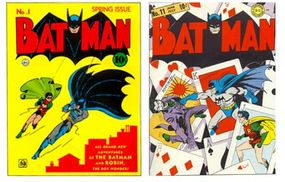 The Joker first appeared in Batman #1 (1940). His first cover appearance followed in Batman #11.