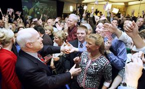 McCain after winning New Hampshire.