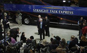 McCain's Straight Talk Express