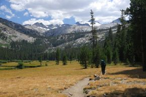 The John Muir Trail is one of the most popular and well-known hiking trails in the U.S.