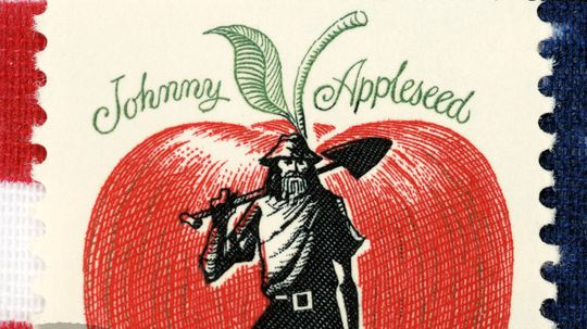 Are Johnny Appleseed's trees alive today?