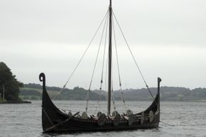 Did Viking longboats carry kubb sets? The origins of the game aren't certain, but it's sometimes referred to as Viking chess.