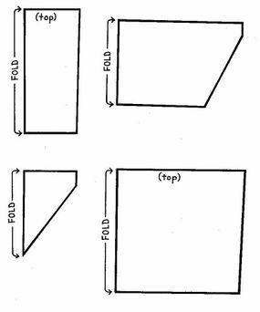 Pocket patterns for the Kwanzaa calendar.