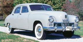 The initial price for the 1947 Kaiser Special was $1868. Postwar inflation quickly boosted it above two grand. See more pictures of Kaiser cars.