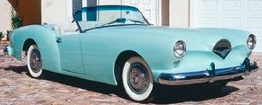 The Kaiser company built only 435 units of the 1954 Kaiser Darrin before it ceased production in the U.S.
