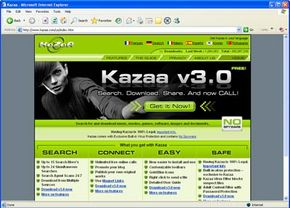 While it officially claims otherwise, Kazaa has been known to include spyware in its download package.