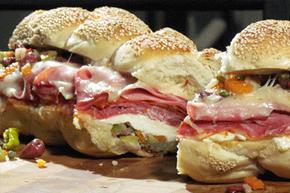 The muffuletta is of the best regional sandwiches.
