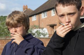 A significant number of children try cigarettes in middle school.