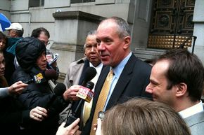 Paul Schurick, campaign aide to former Maryland Gov. Robert L. Ehrlich Jr., was found guilty in the robocall scandal in Baltimore on Feb. 16, 2012.
