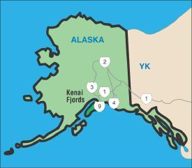National Parks Image Gallery Kenai Fjords National park features a dramatic coastline and water-loving wildlife. See more pictures of national parks.