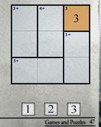 KenKen puzzles are 3-by-3 to 9-by-9. The smaller the puzzle, the easier to solve.