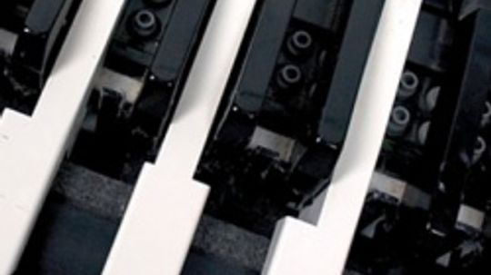 Inside a Keyboard Image Gallery