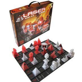 Khet is similar to chess in its strategy-based gameplay. See more pictures of toys and games.