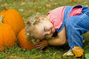 Think of the kids when planning the menu, and let them get involved on the big day. See more pictures of pumpkin patches.