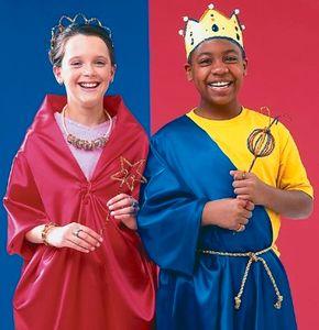 Dressing in costume is half the fun of make-believe.