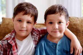 Twins raised apart from each other can still mature into surprisingly similar adults. See more modern parenting pictures.