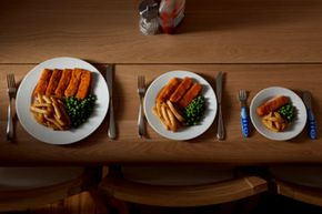Parents pass along their dietary habits to their children.