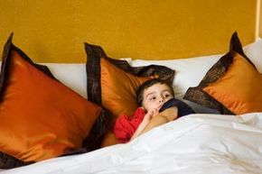 Can your little guy brave the night alone?