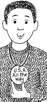 Make your own American Medal.