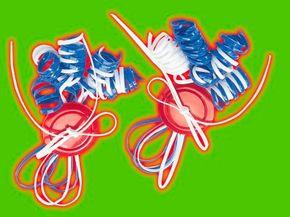 Curly Shoelace Ties