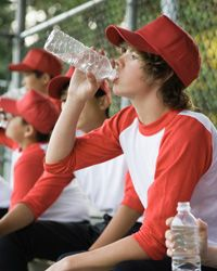 Drink up, especially during summer sports.