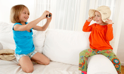 Have a budding photographer at home? Newer digital cameras have gotten decidedly child-friendly.