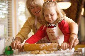 Getting kids involved in a family tradition will help them understand its importance (and cookie bribes will only further your cause).