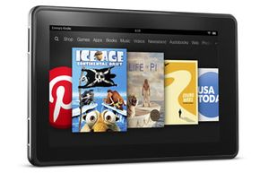 The Kindle Fire is Amazon's horse in the consumer tablet race.