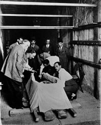 Lord Carnarvon was dead long before archaeologists reached Tut's mummy.