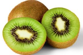 You can eat every part of a kiwi, though many people peel the fruit to avoid the fuzzy skin.