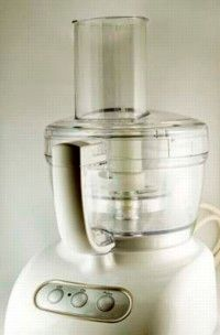 Use a food processor to easily grate, chop, slice, and more.