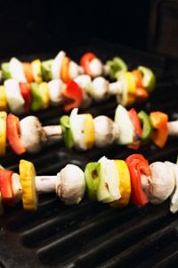 Few things go better on the grill than shish kabobs.