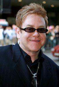 Queen Elizabeth knighted Elton John in 1998.