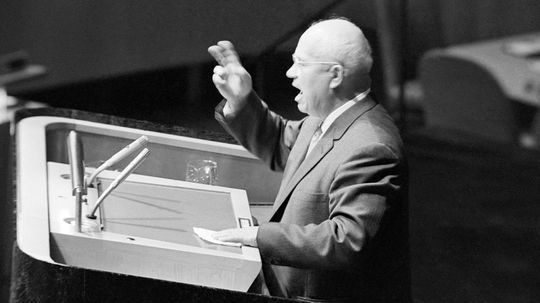 Did Nikita Khrushchev Really Bang His Shoe in Defiance at the U.N.?