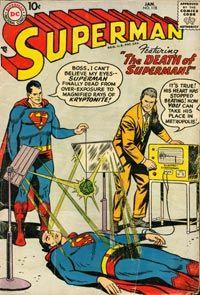 Superhero Image Gallery Green kryptonite weakens Superman. See more superhero pictures.
