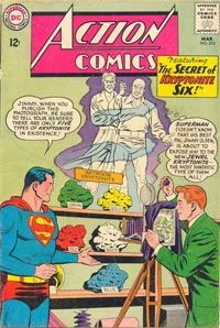 If Superman comes into contact with Green Kryptonite, he instantly becomes weak.