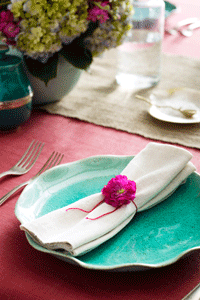 Consider the style and feel of your soirée, but also practicalities like budget and service.