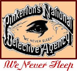 Corporation Image Gallery The Pinkerton Detective Agency acted as a private police force for many powerful corporations and robber barons. See more corporation pictures.