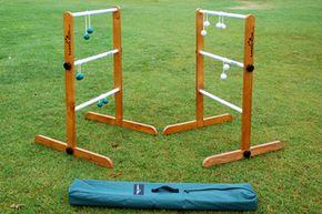 A  ladder ball set.