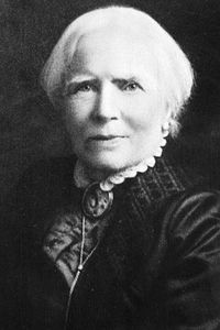 Elizabeth Blackwell, who was the first female physician in the United States, helped establish the organization that would pave the way for ladies' aid societies.