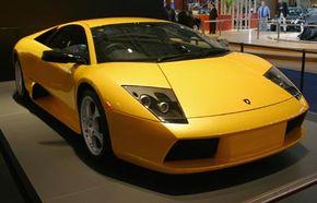 The Lamborghini Murcielago LP 640 has outstanding horsepower.