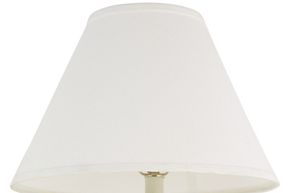 Decorate your lampshades to complement the room's decor.