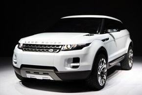The Land Rover LRX hybrid concept vehicle is unveiled on Jan. 13, 2008, at the North American International Auto Show in Detroit, Mich. See more pictures of hybrid cars.