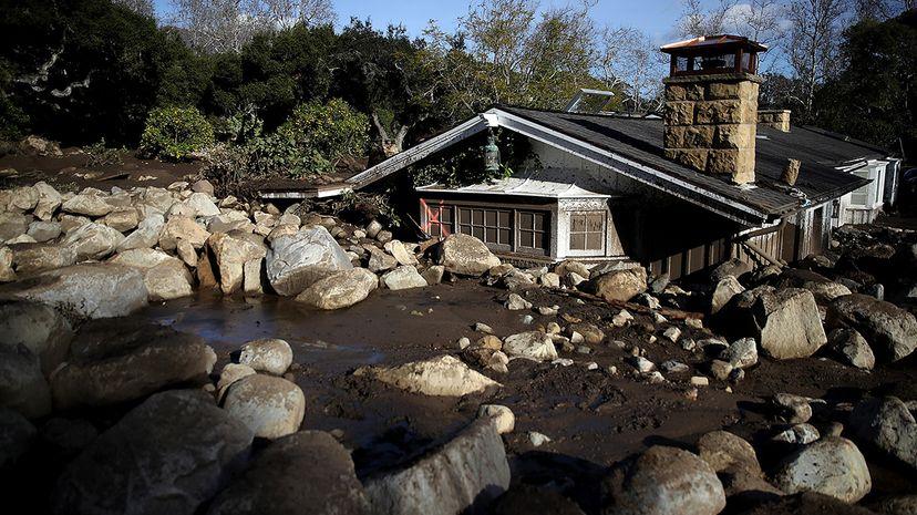 Montecito, California mudslide