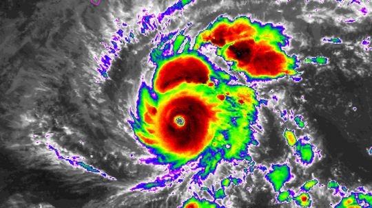 Battle Epic: When Hurricanes Clash With Volcanoes